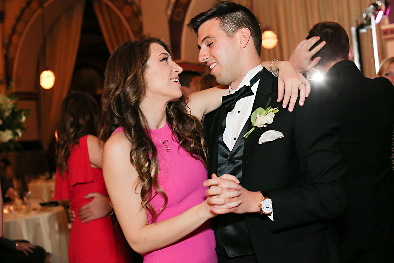 Allison Jeff Union Station Crowne Plaza Indianapolis wedding 321