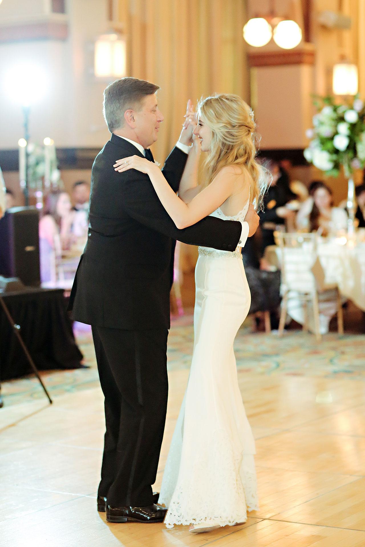 Allison Jeff Union Station Crowne Plaza Indianapolis wedding 317
