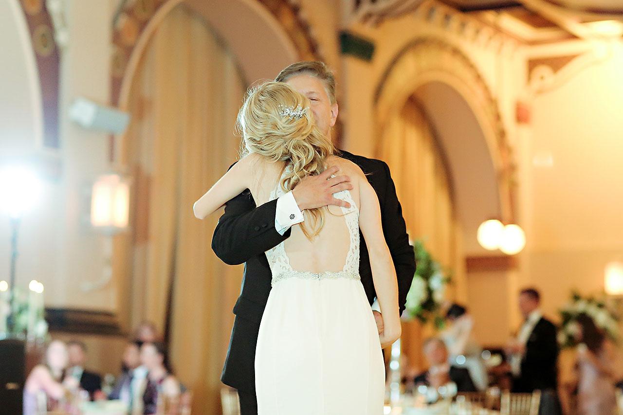 Allison Jeff Union Station Crowne Plaza Indianapolis wedding 316