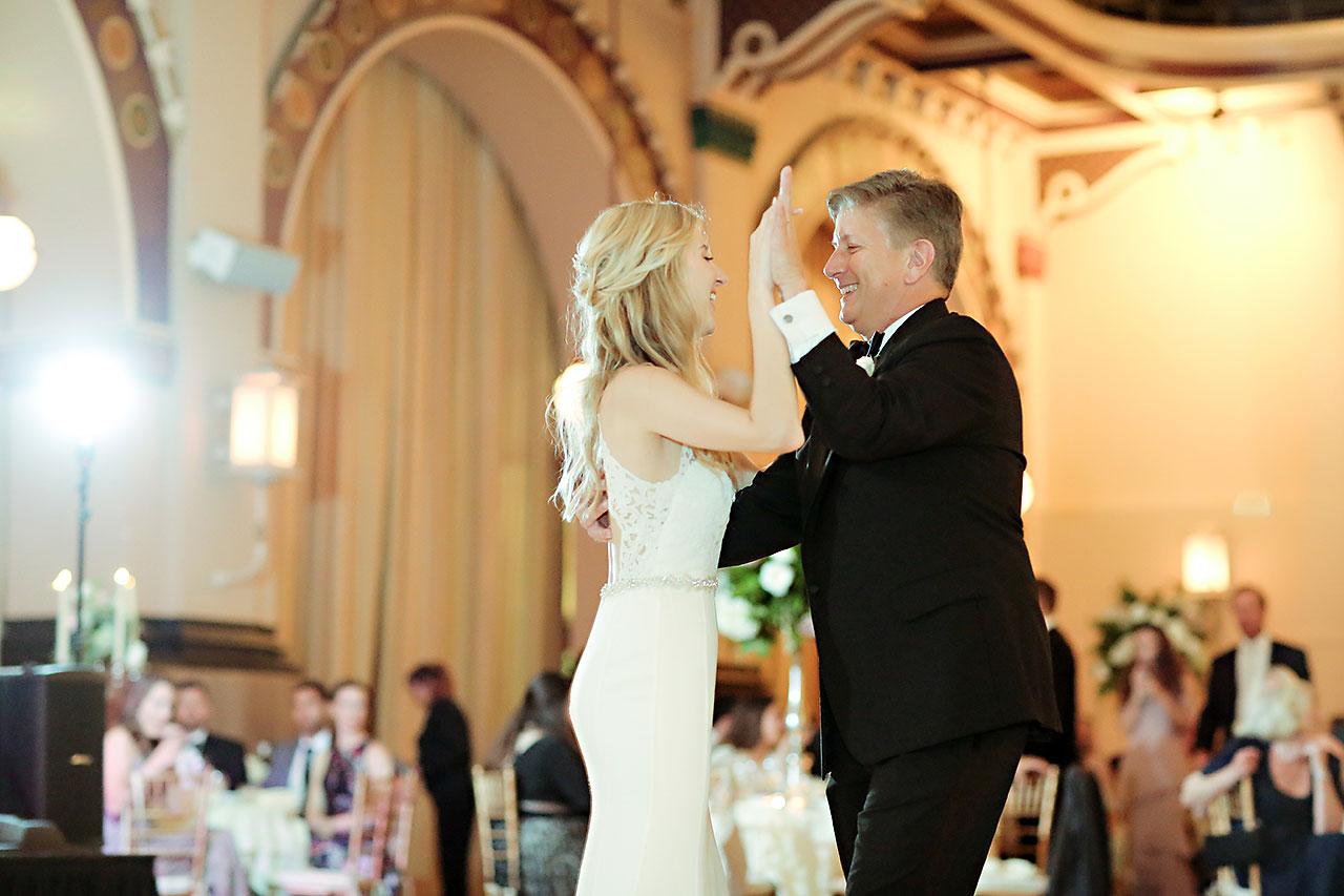 Allison Jeff Union Station Crowne Plaza Indianapolis wedding 314