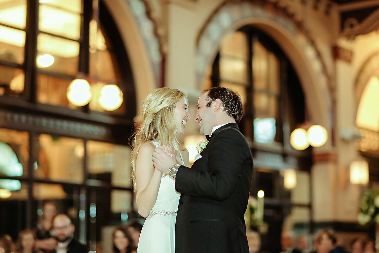 Allison Jeff Union Station Crowne Plaza Indianapolis wedding 301