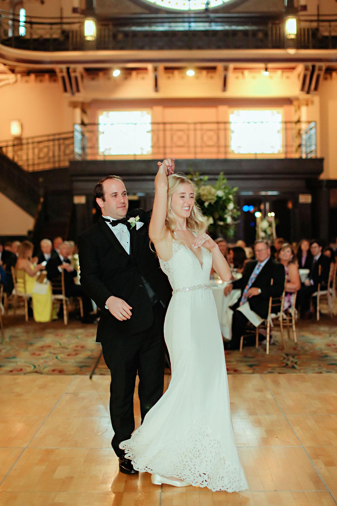 Allison Jeff Union Station Crowne Plaza Indianapolis wedding 296