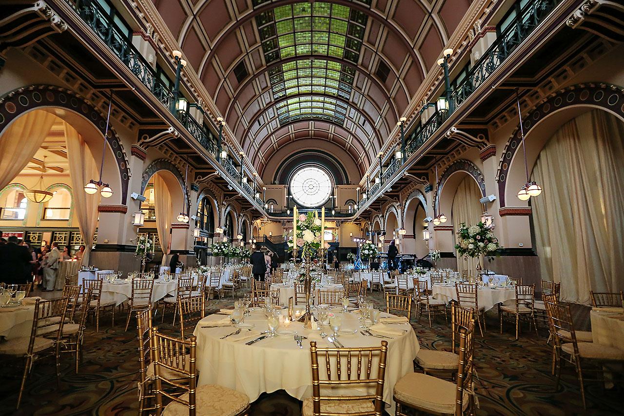 Allison Jeff Union Station Crowne Plaza Indianapolis wedding 286