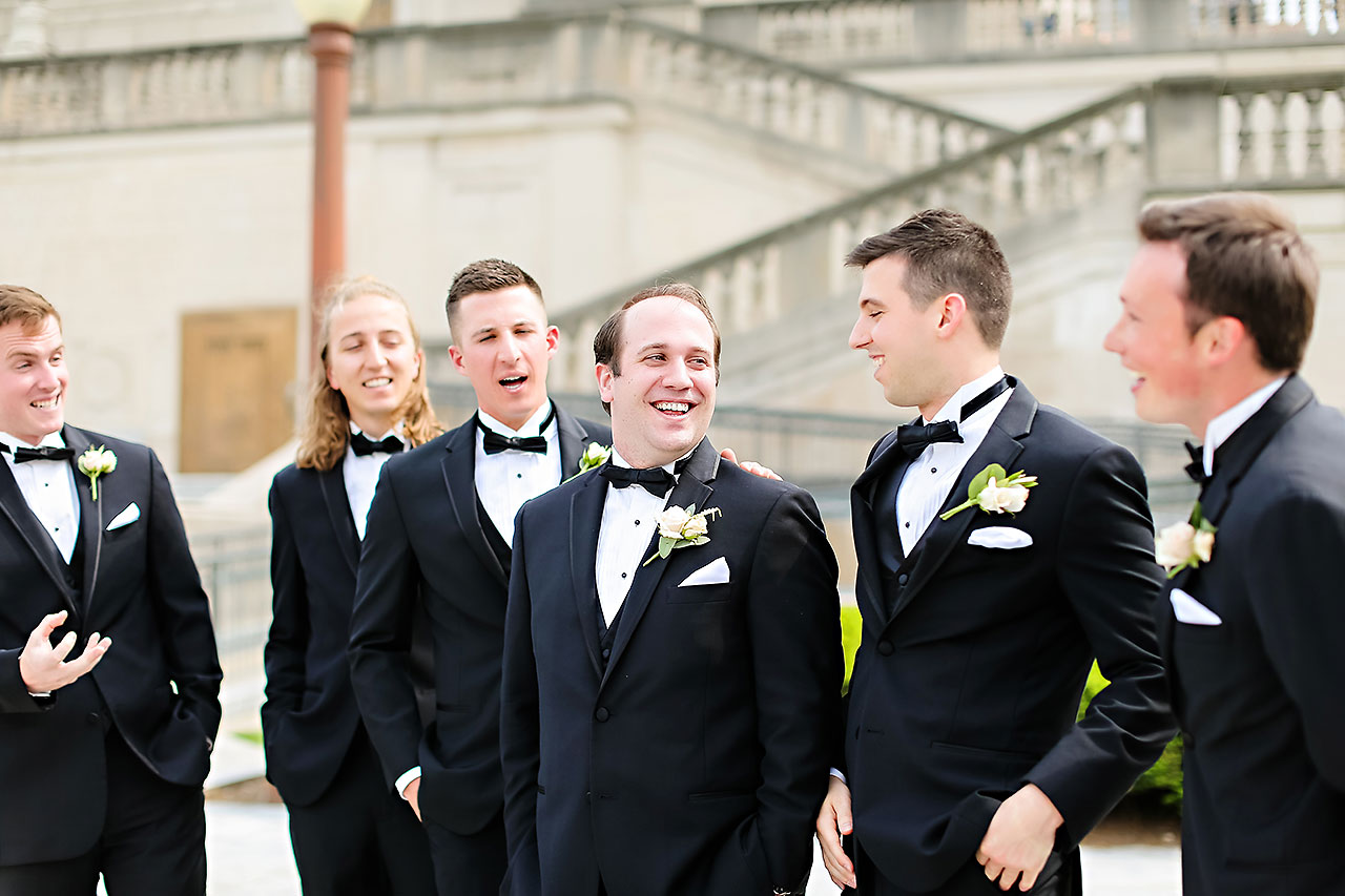 Allison Jeff Union Station Crowne Plaza Indianapolis wedding 197