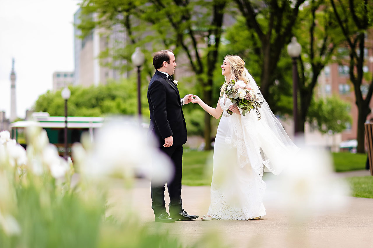 Allison Jeff Union Station Crowne Plaza Indianapolis wedding 183