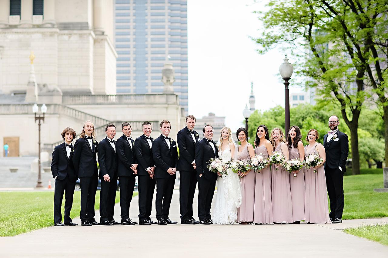 Allison Jeff Union Station Crowne Plaza Indianapolis wedding 166