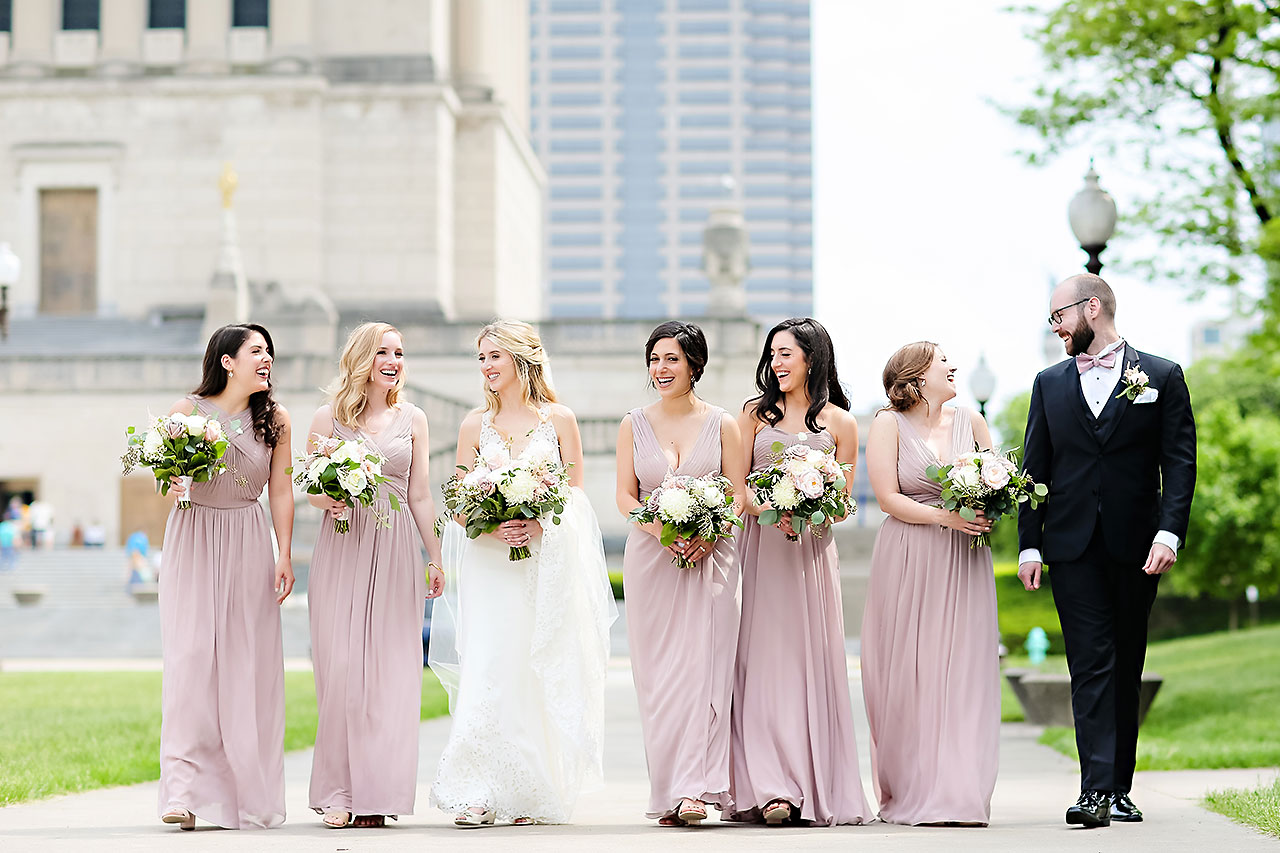 Allison Jeff Union Station Crowne Plaza Indianapolis wedding 167
