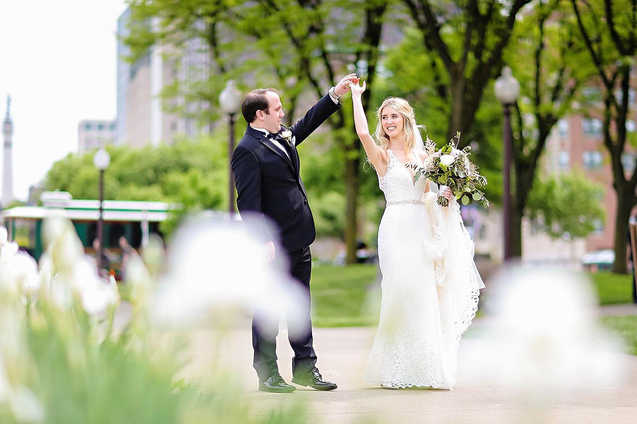 Allison Jeff Union Station Crowne Plaza Indianapolis wedding 165