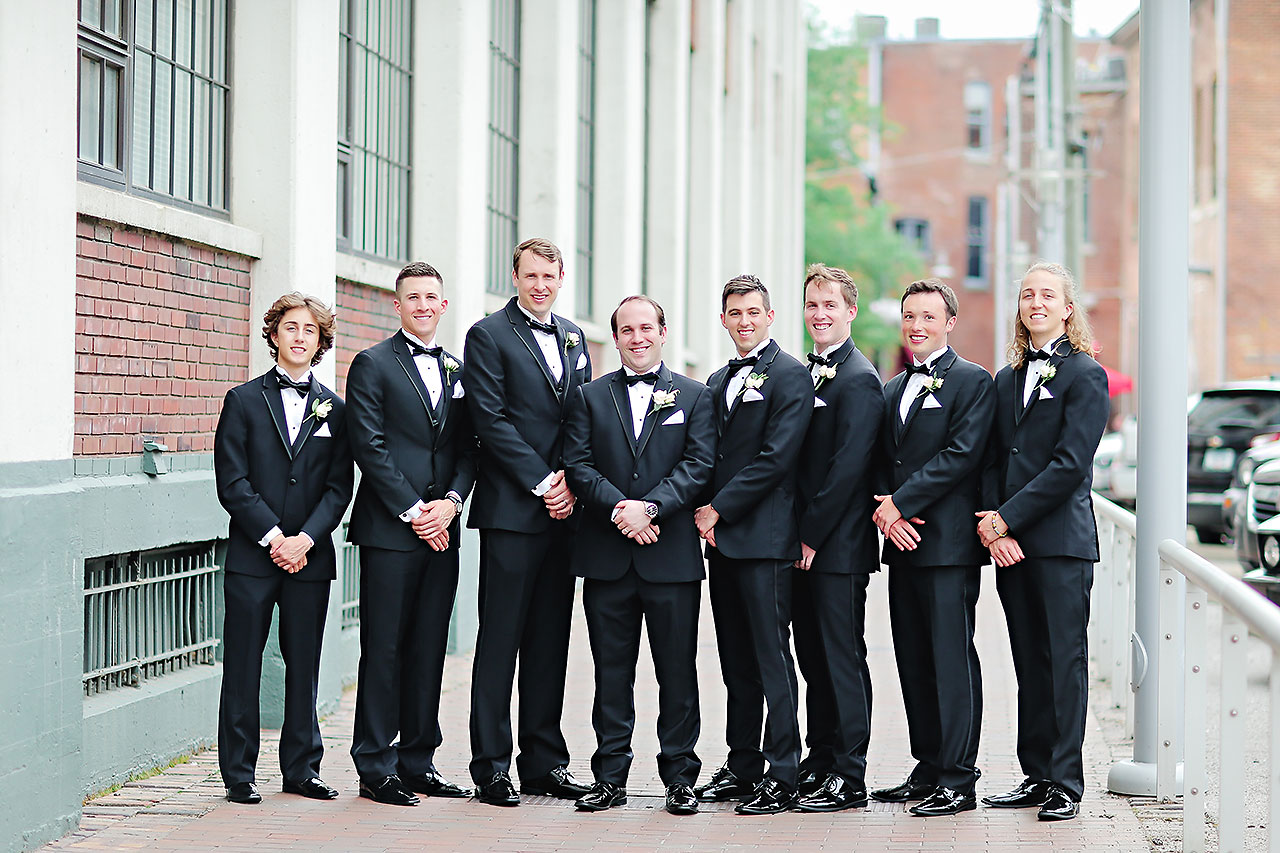 Allison Jeff Union Station Crowne Plaza Indianapolis wedding 113
