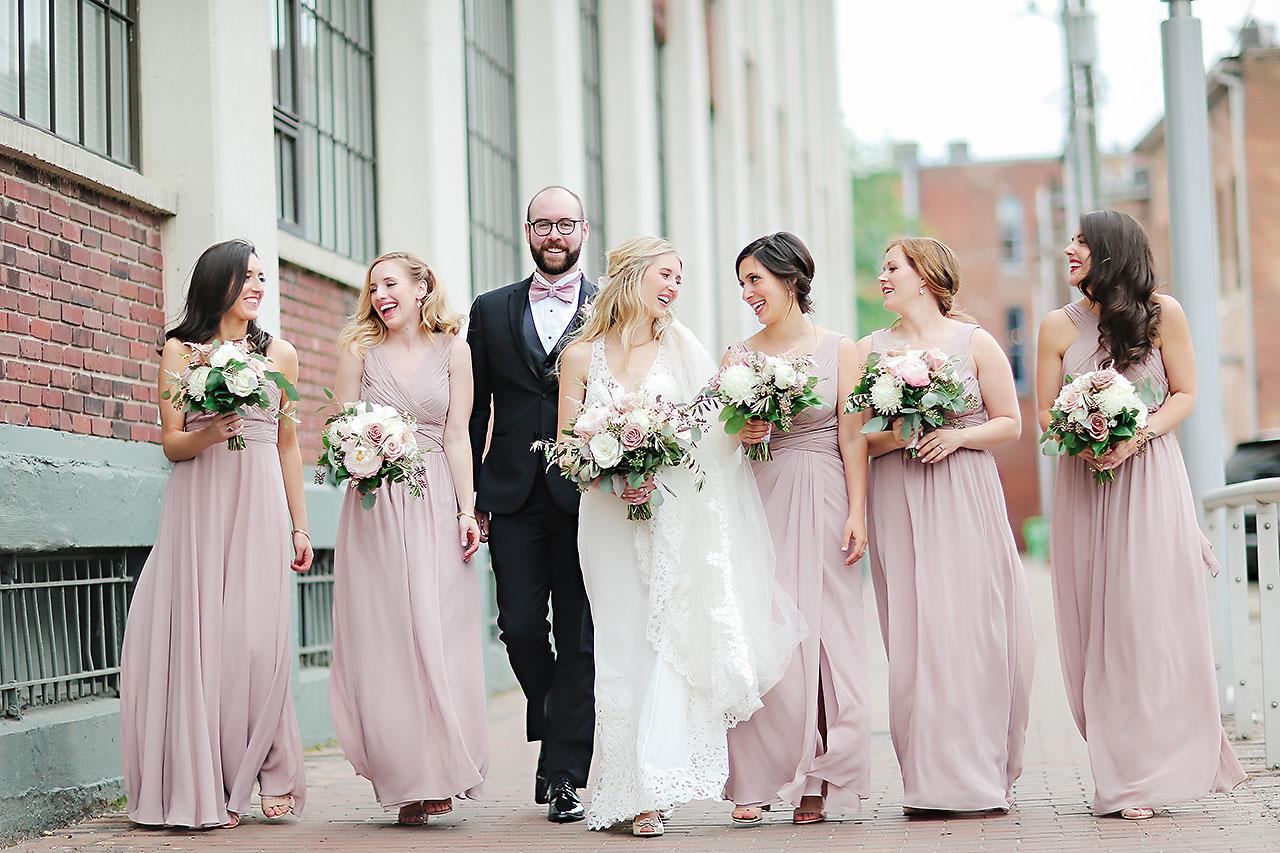Allison Jeff Union Station Crowne Plaza Indianapolis wedding 102