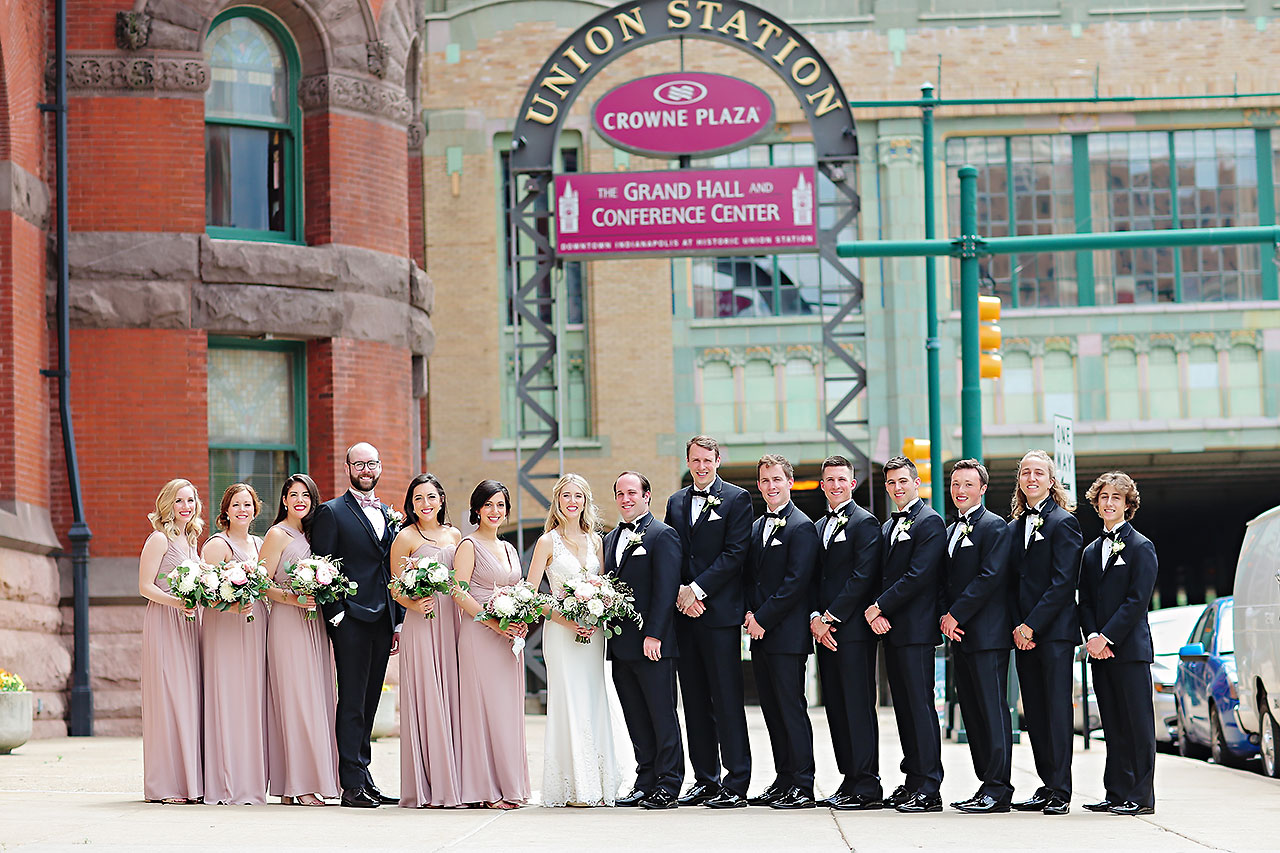 Allison Jeff Union Station Crowne Plaza Indianapolis wedding 068