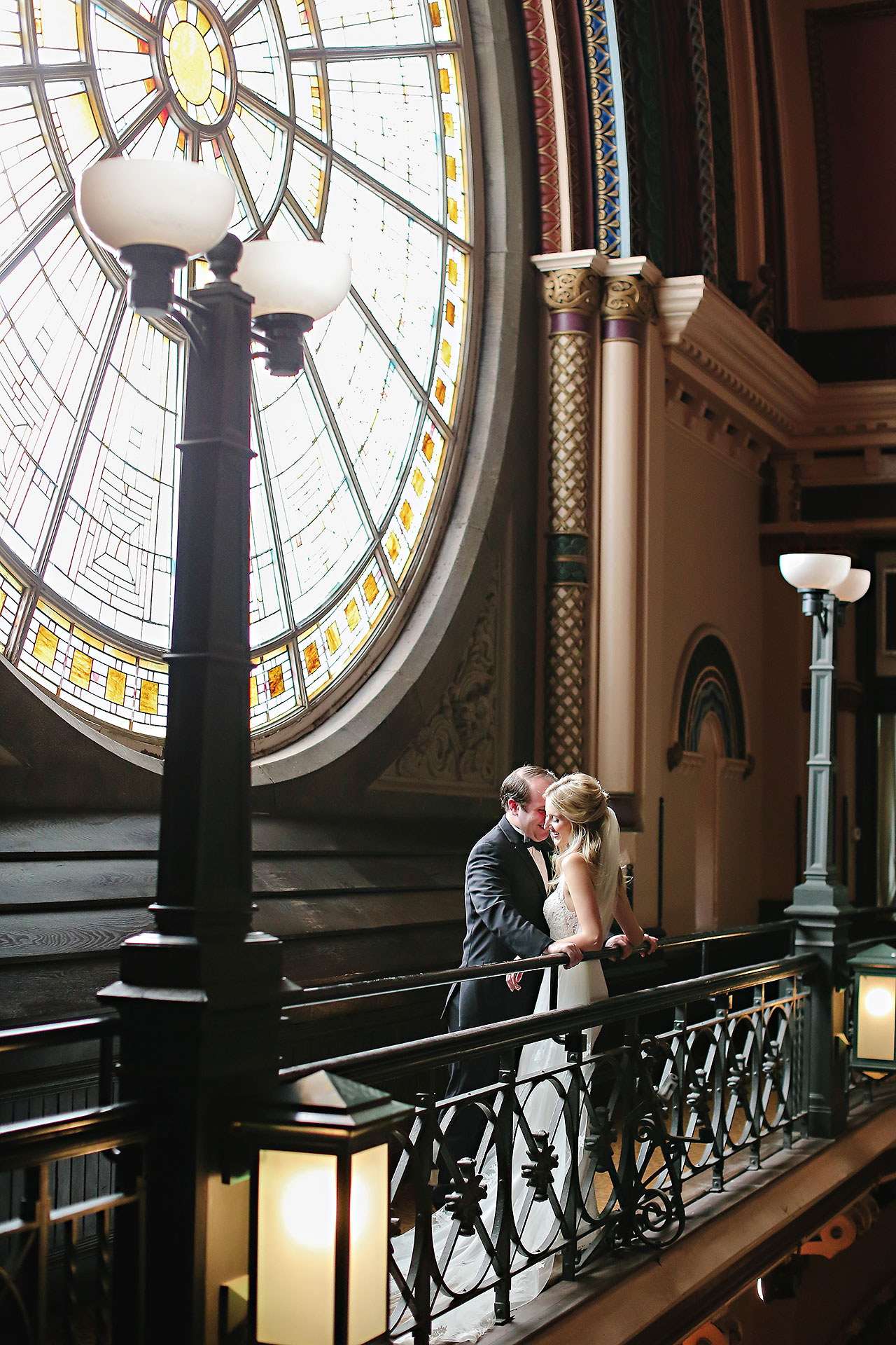 Allison Jeff Union Station Crowne Plaza Indianapolis wedding 064