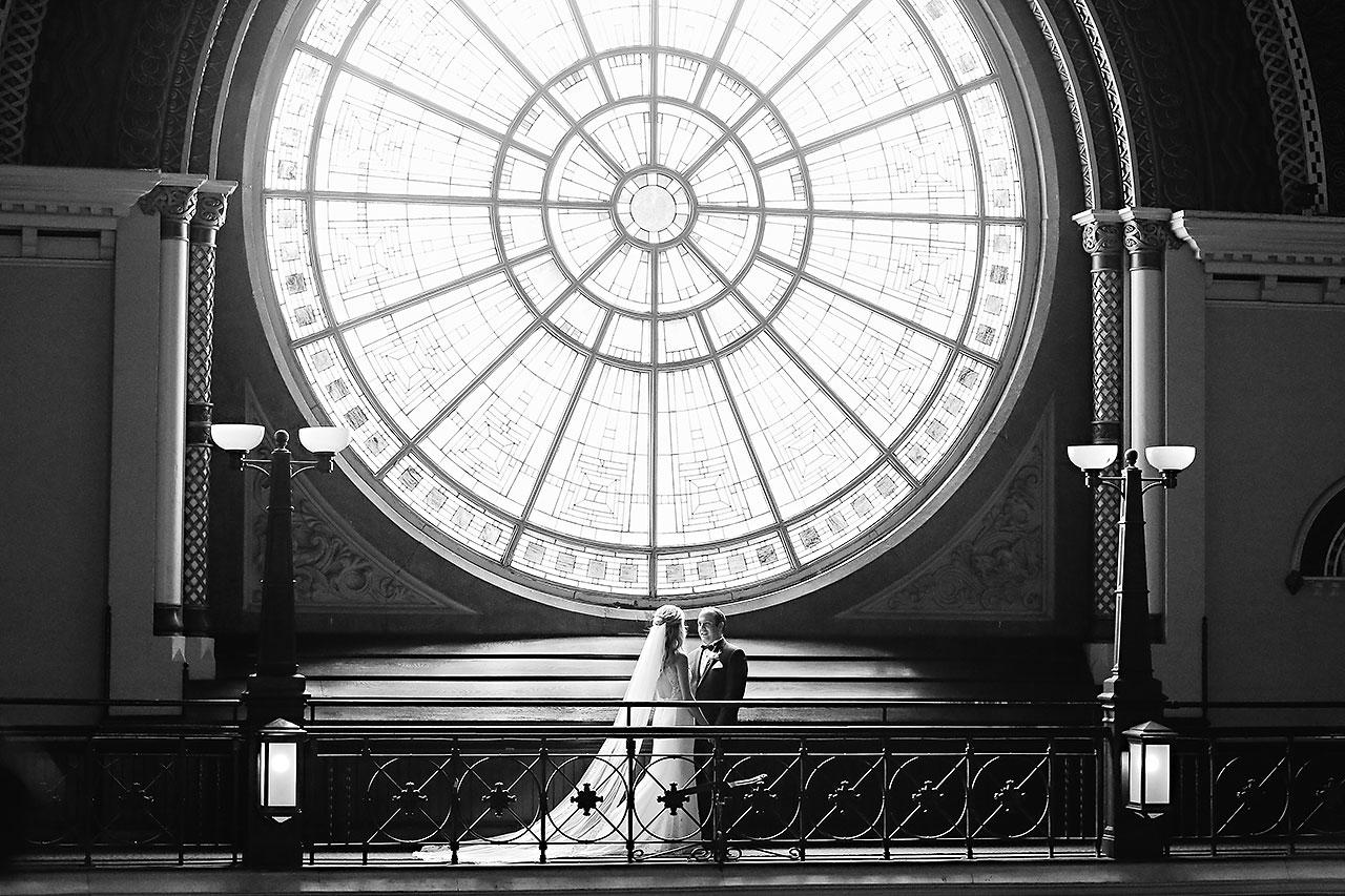 Allison Jeff Union Station Crowne Plaza Indianapolis wedding 060