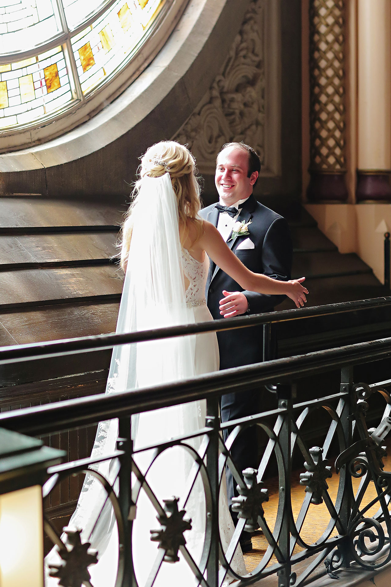 Allison Jeff Union Station Crowne Plaza Indianapolis wedding 056