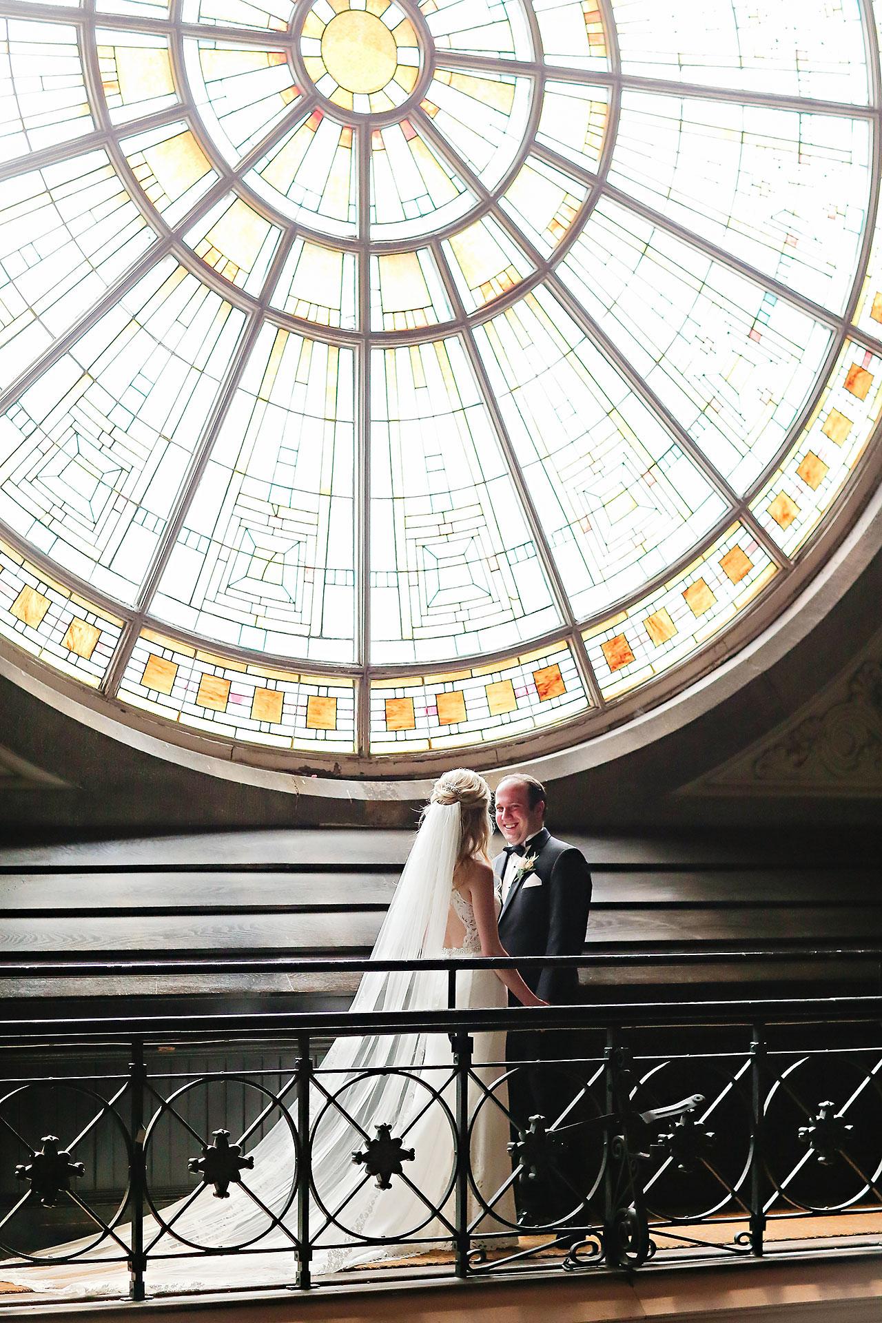 Allison Jeff Union Station Crowne Plaza Indianapolis wedding 057