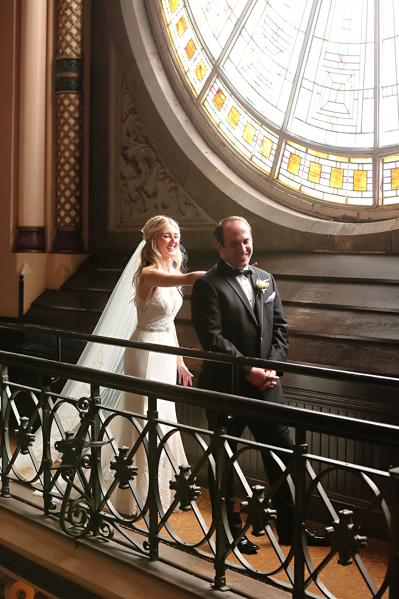 Allison Jeff Union Station Crowne Plaza Indianapolis wedding 053