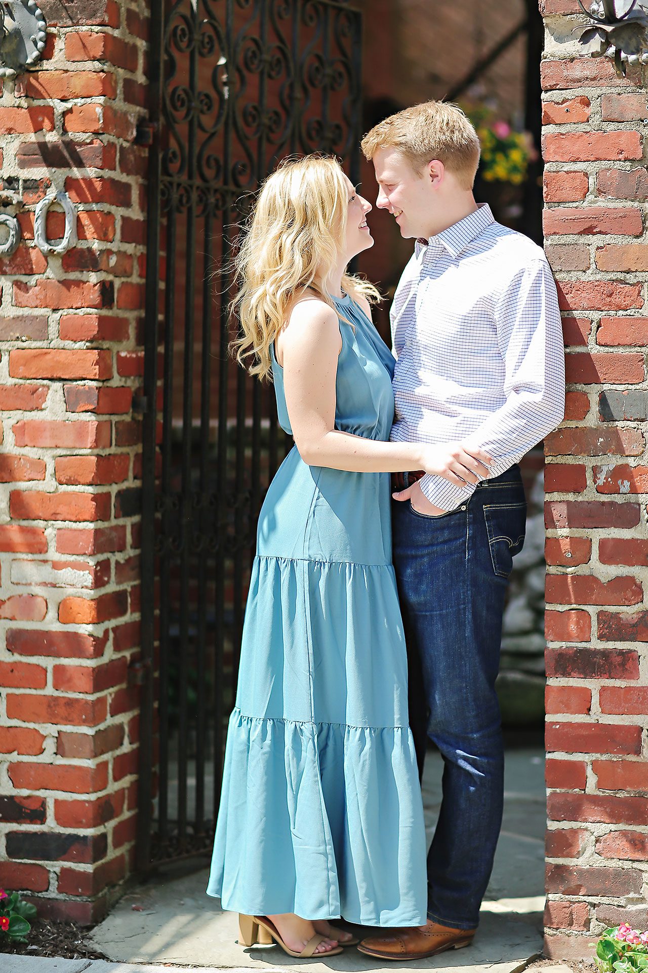 Morgan Max Zionsville Engagement Session 156