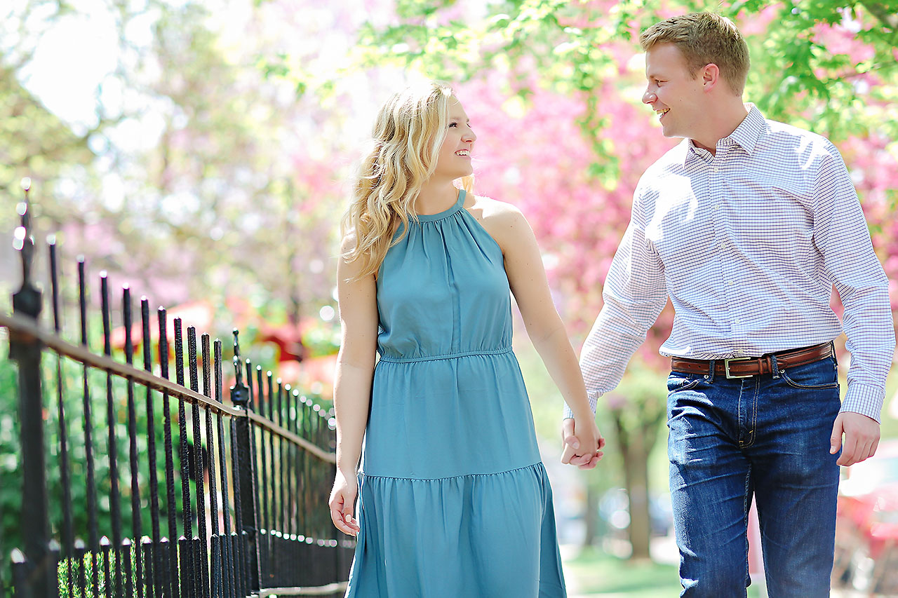 Morgan Max Zionsville Engagement Session 145