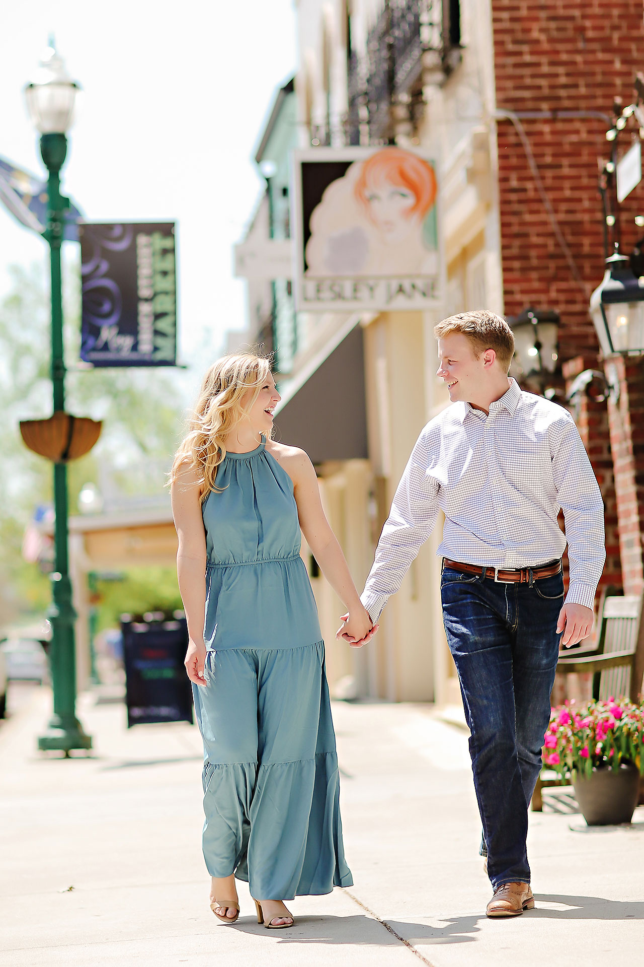 Morgan Max Zionsville Engagement Session 136