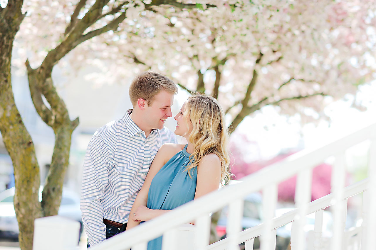 Morgan Max Zionsville Engagement Session 123