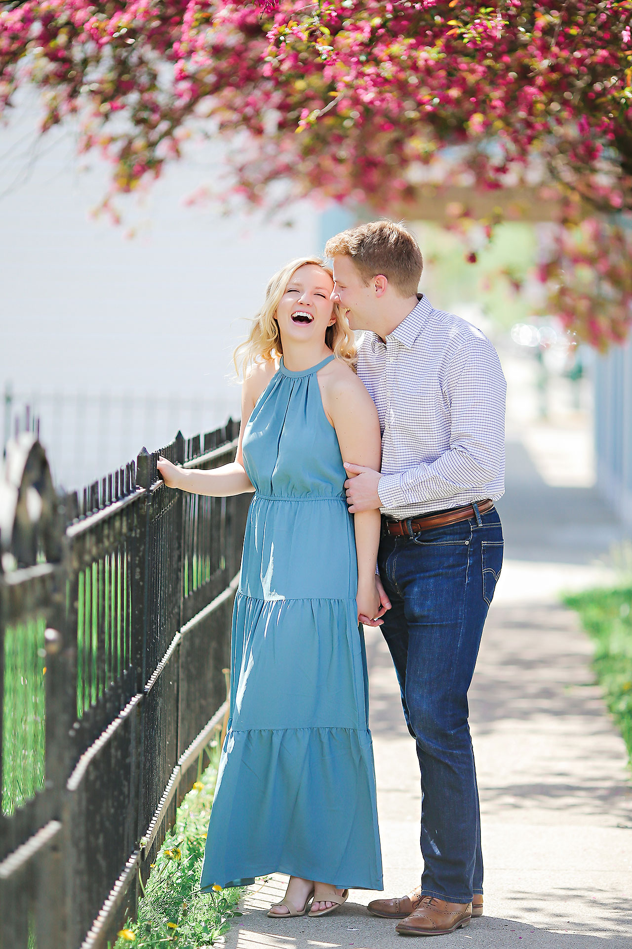 Morgan Max Zionsville Engagement Session 116