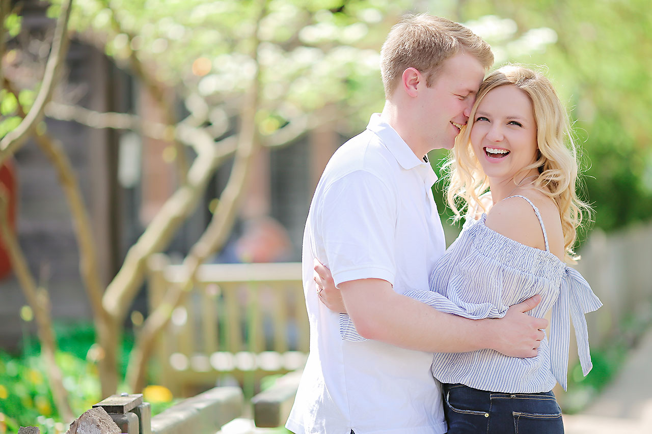 Morgan Max Zionsville Engagement Session 091