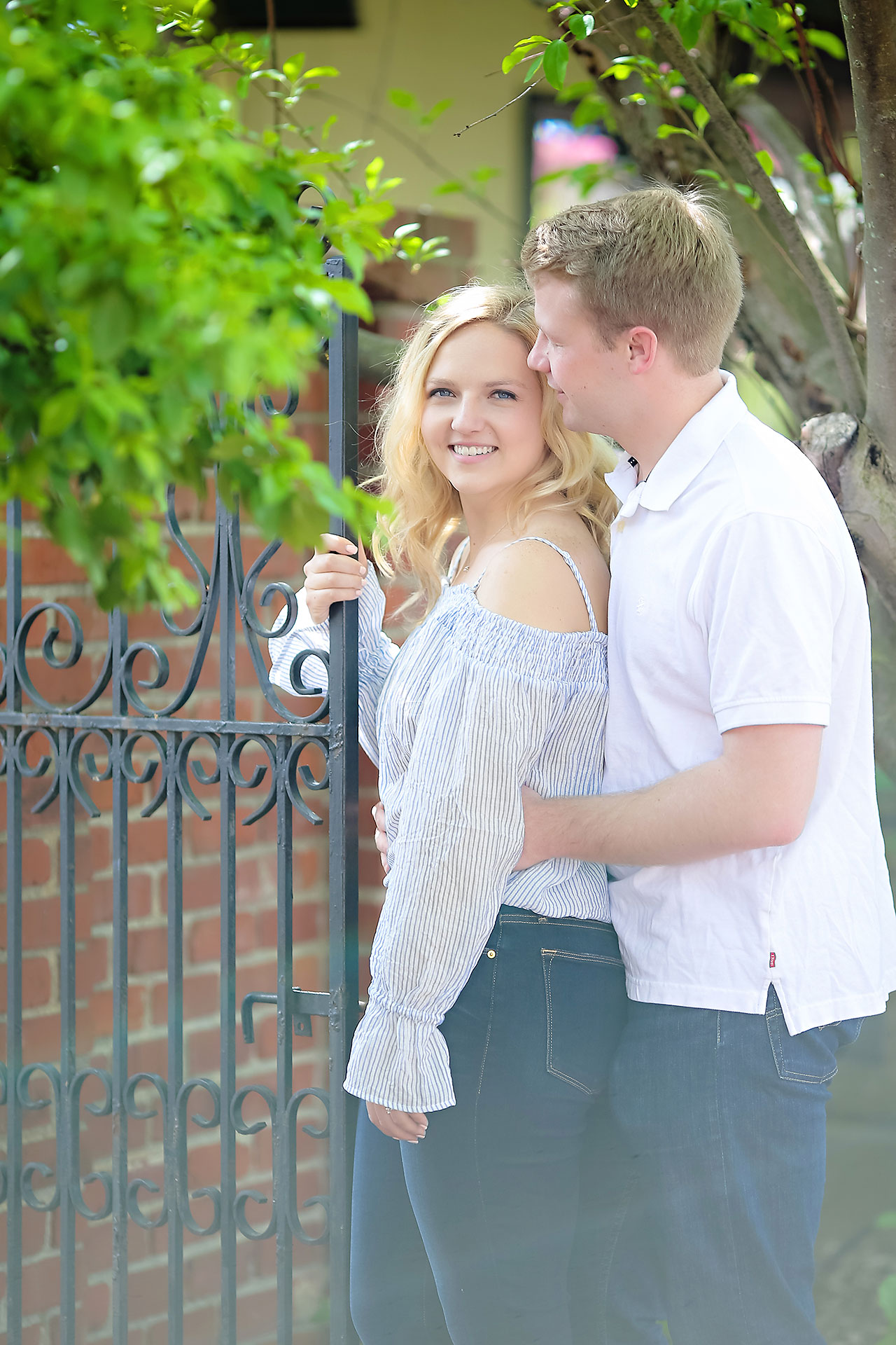Morgan Max Zionsville Engagement Session 082