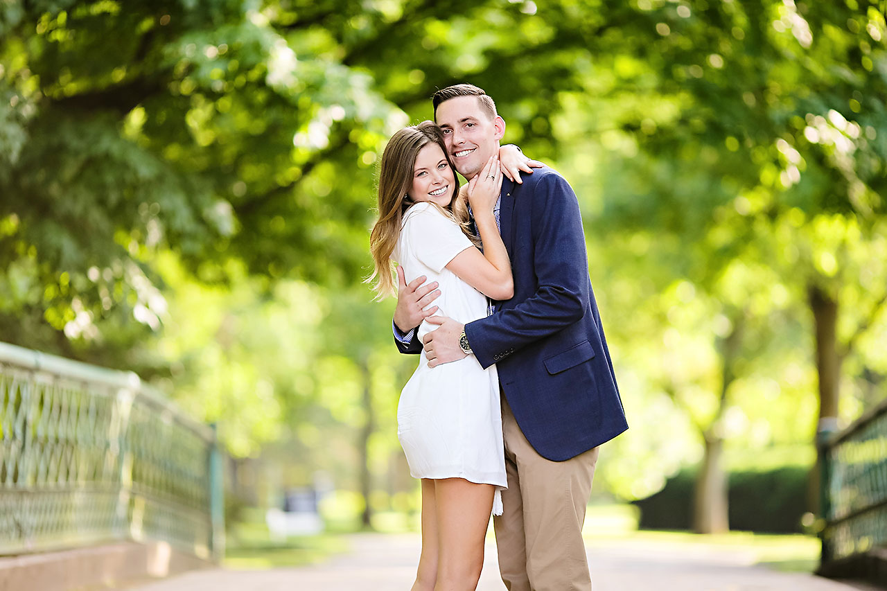 Erin Grant Indianpolis Museum of Art Newfields Engagement Session 177