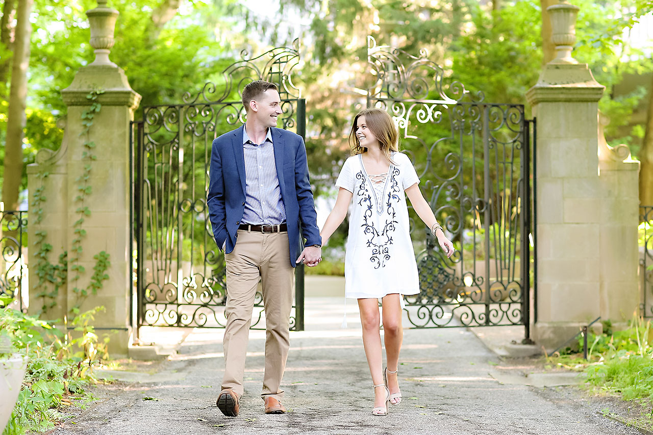 Erin Grant Indianpolis Museum of Art Newfields Engagement Session 178