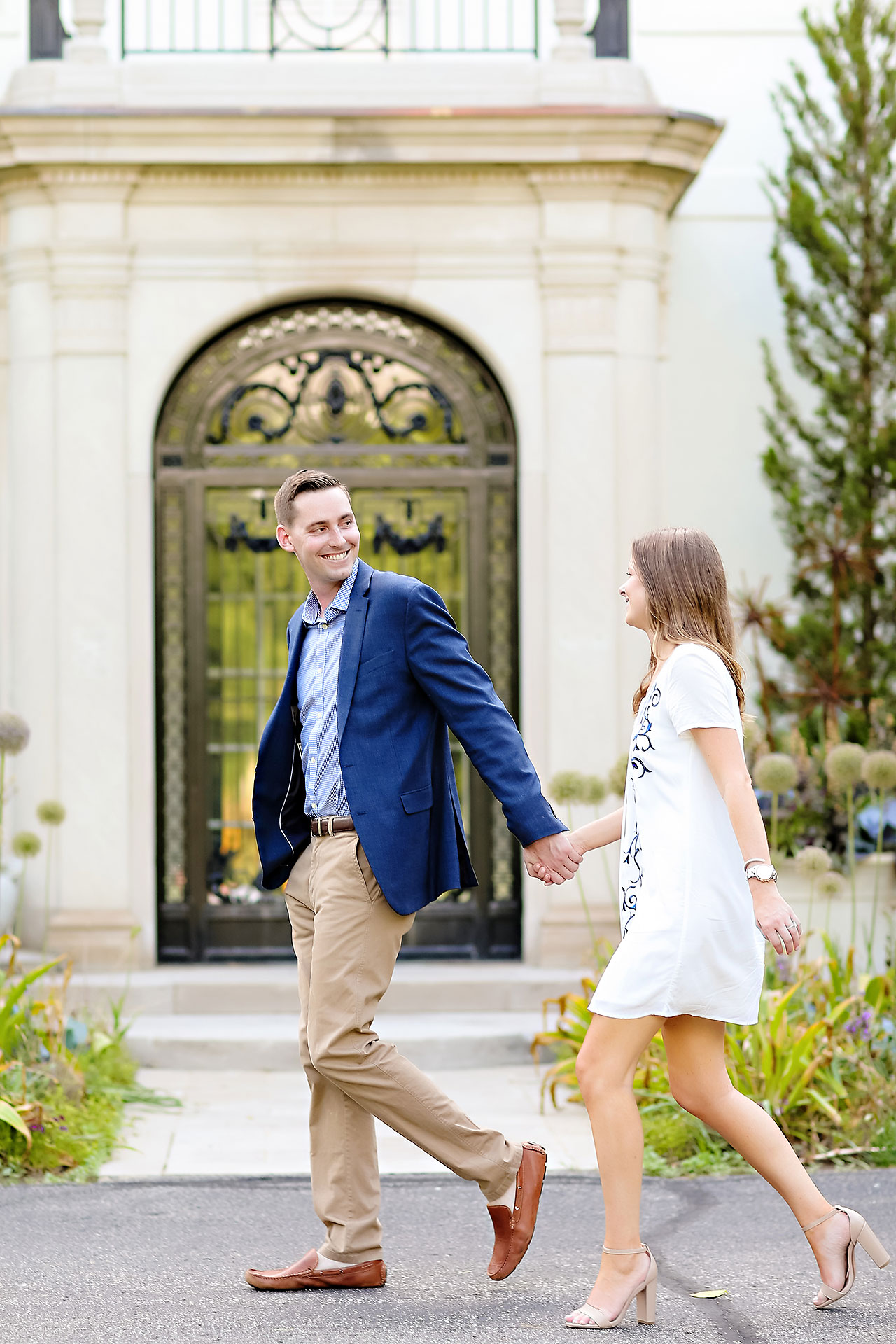Erin Grant Indianpolis Museum of Art Newfields Engagement Session 136