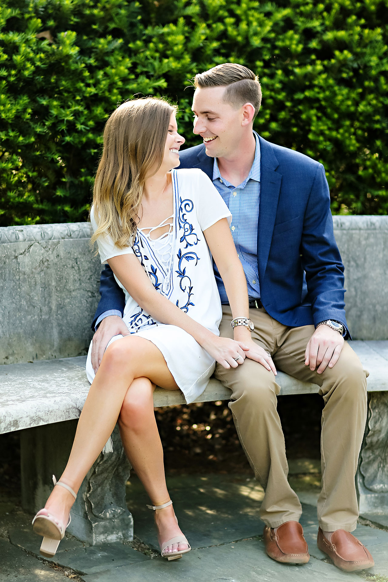 Erin Grant Indianpolis Museum of Art Newfields Engagement Session 134