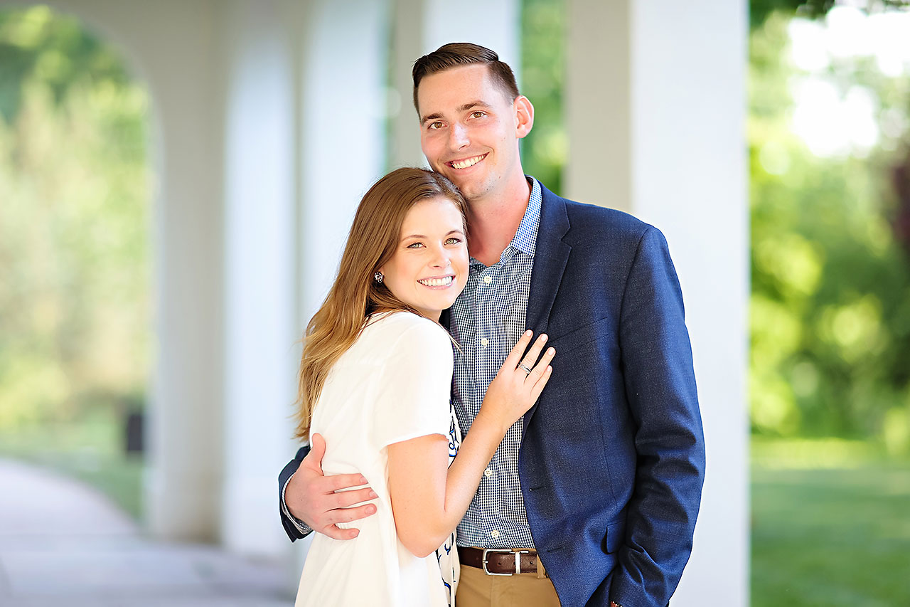 Erin Grant Indianpolis Museum of Art Newfields Engagement Session 130