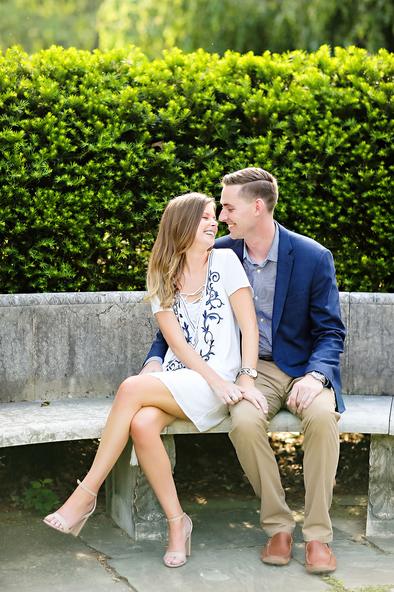 Erin Grant Indianpolis Museum of Art Newfields Engagement Session 122