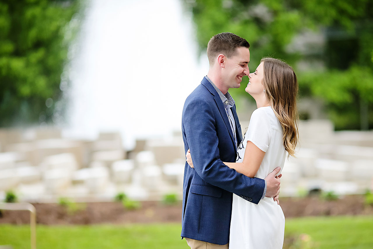 Erin Grant Indianpolis Museum of Art Newfields Engagement Session 116