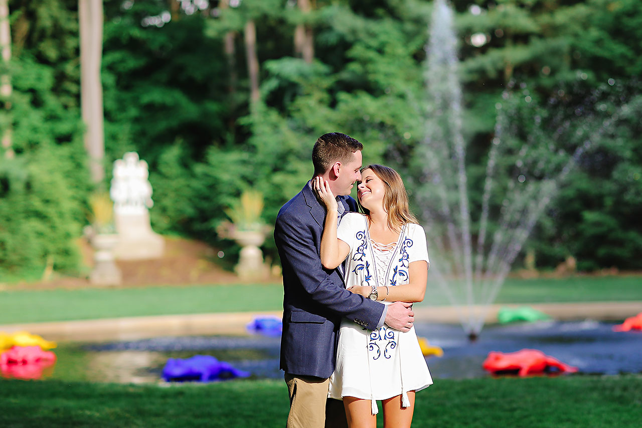 Erin Grant Indianpolis Museum of Art Newfields Engagement Session 117