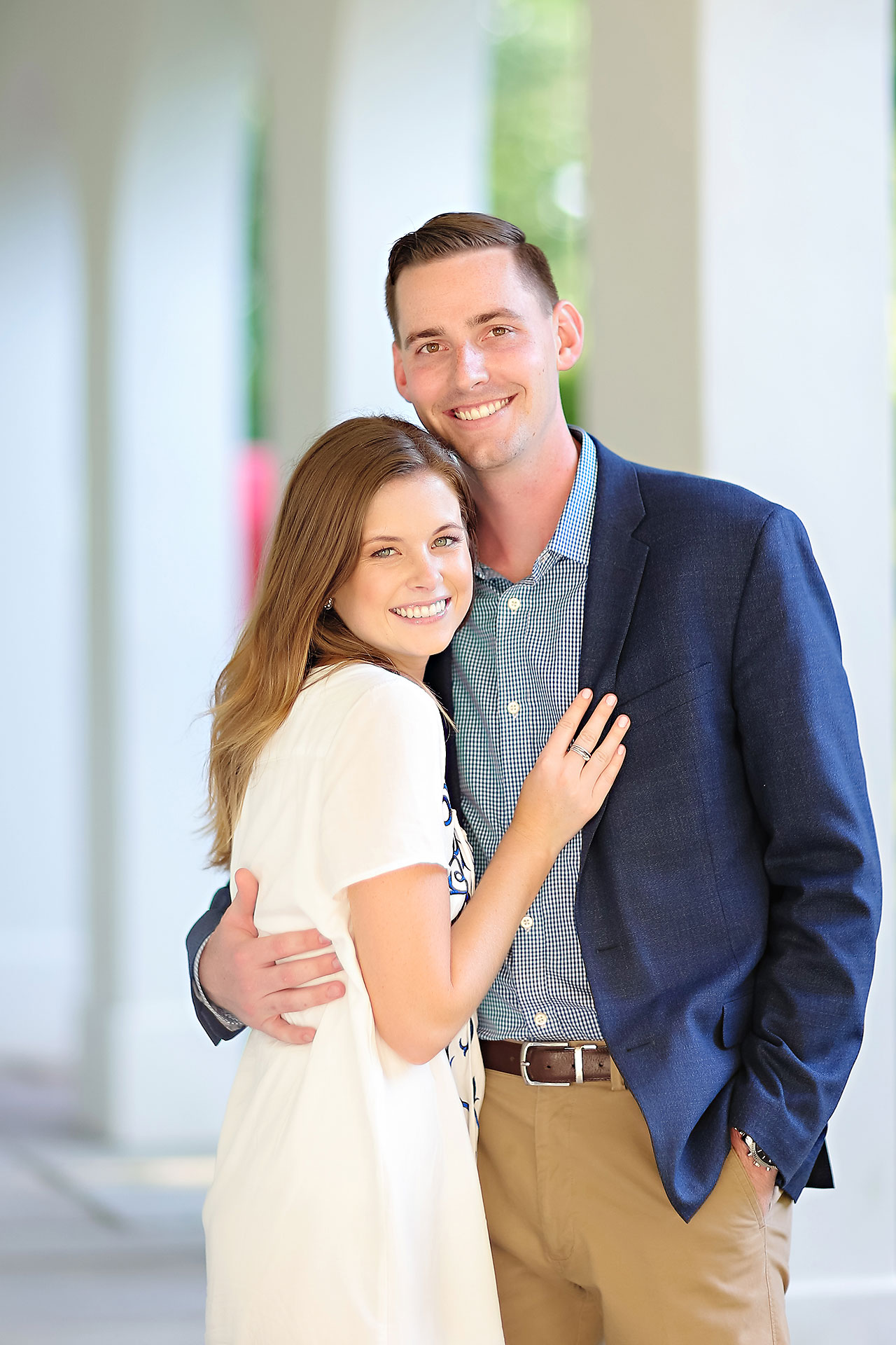 Erin Grant Indianpolis Museum of Art Newfields Engagement Session 105