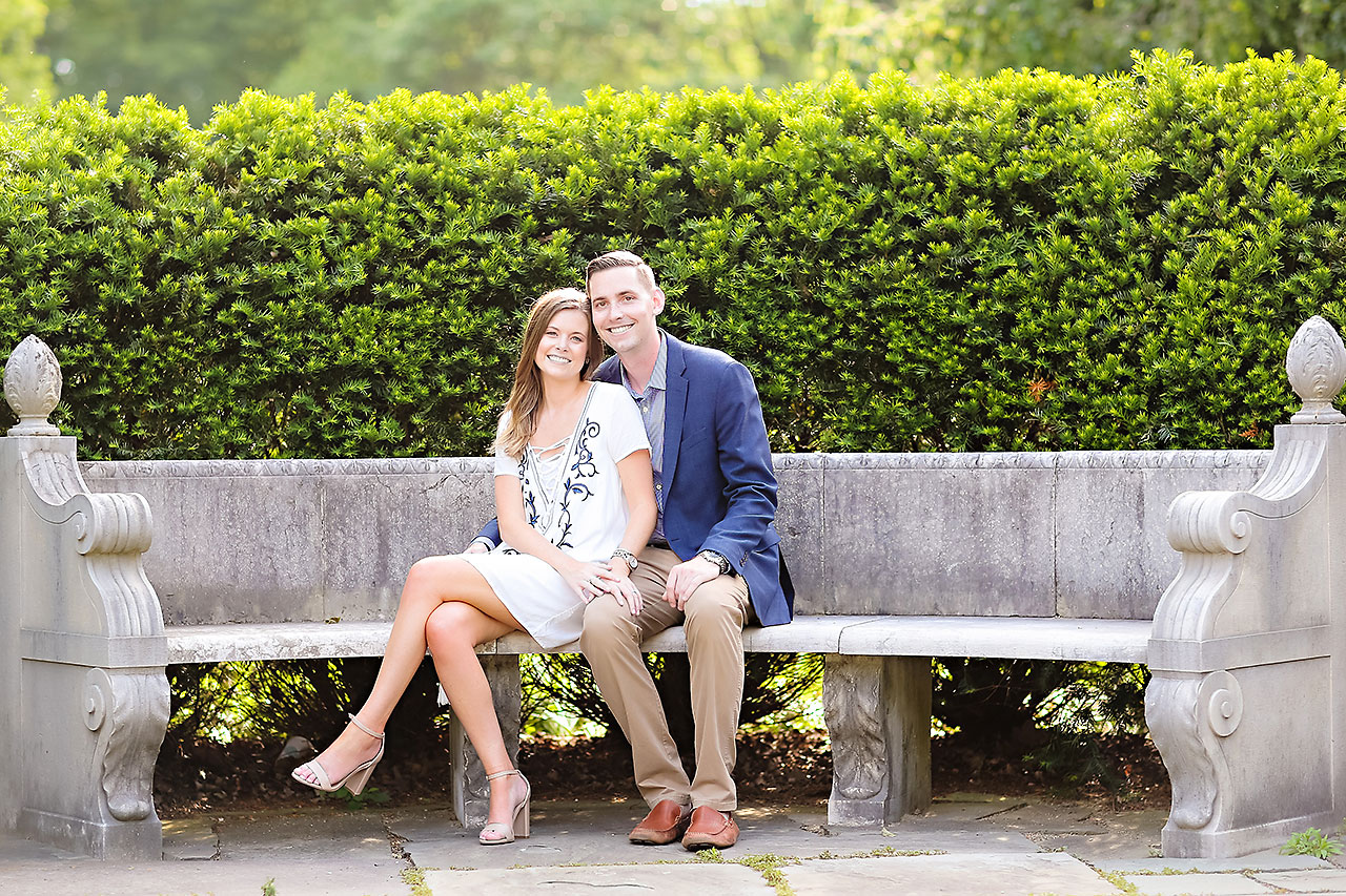Erin Grant Indianpolis Museum of Art Newfields Engagement Session 097