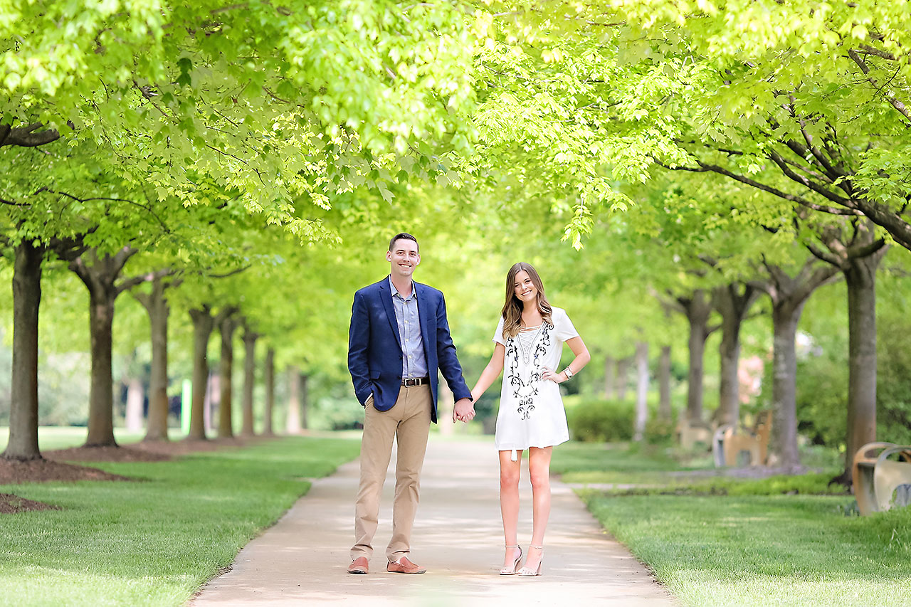 Erin Grant Indianpolis Museum of Art Newfields Engagement Session 083