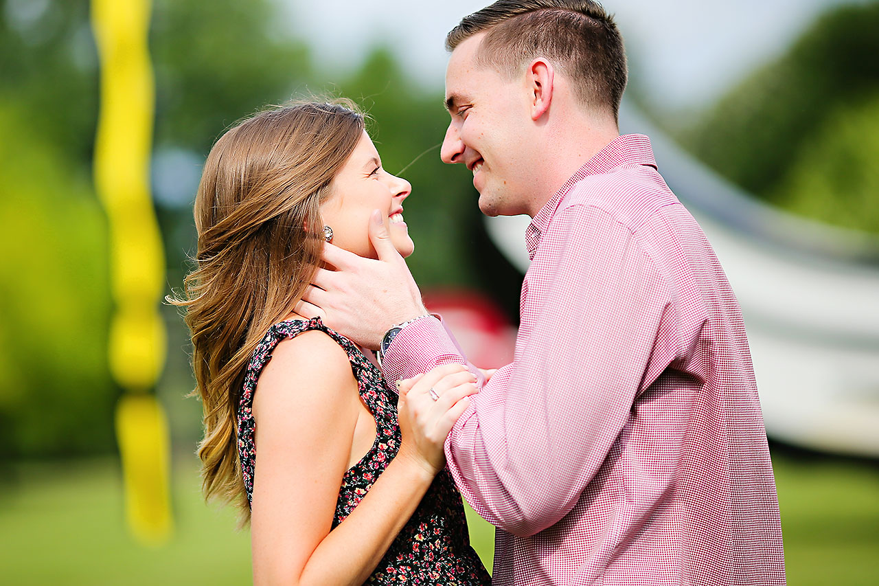 Erin Grant Indianpolis Museum of Art Newfields Engagement Session 055
