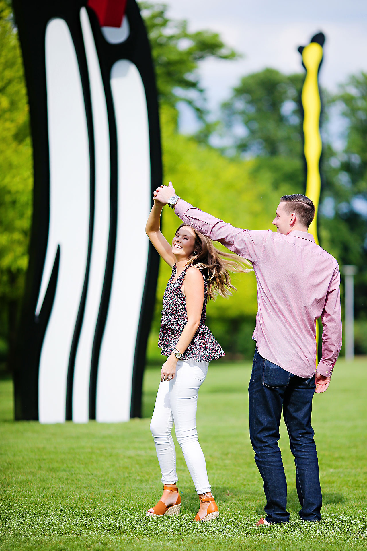 Erin Grant Indianpolis Museum of Art Newfields Engagement Session 047