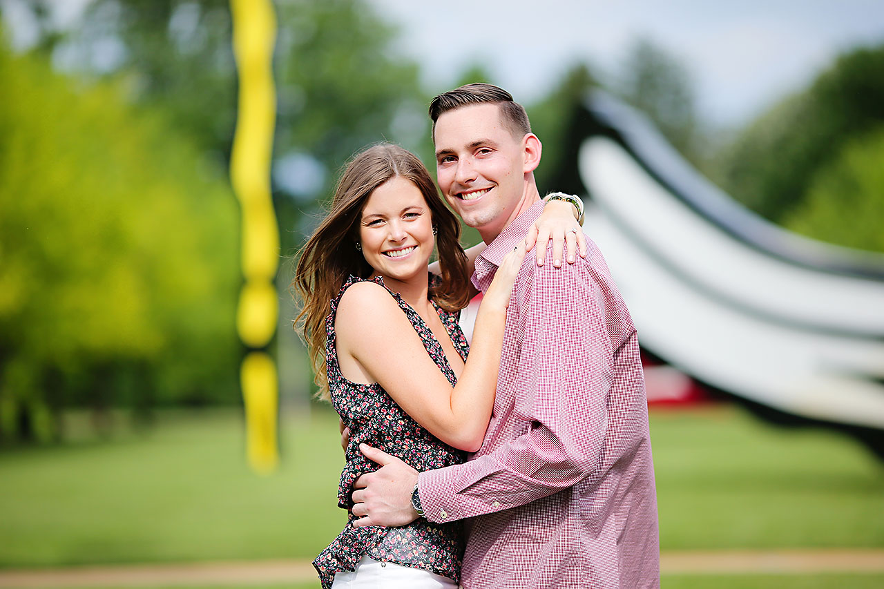 Erin Grant Indianpolis Museum of Art Newfields Engagement Session 044
