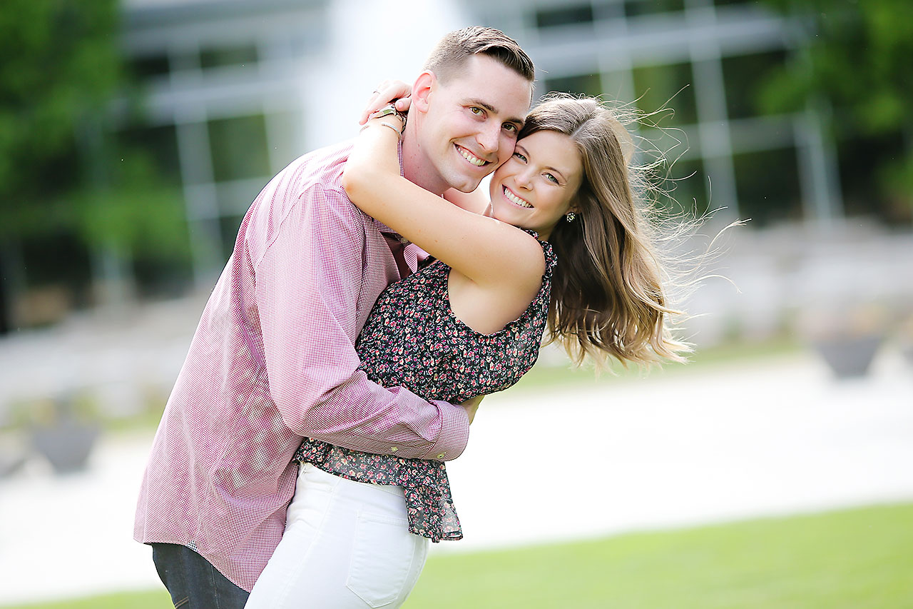 Erin Grant Indianpolis Museum of Art Newfields Engagement Session 045