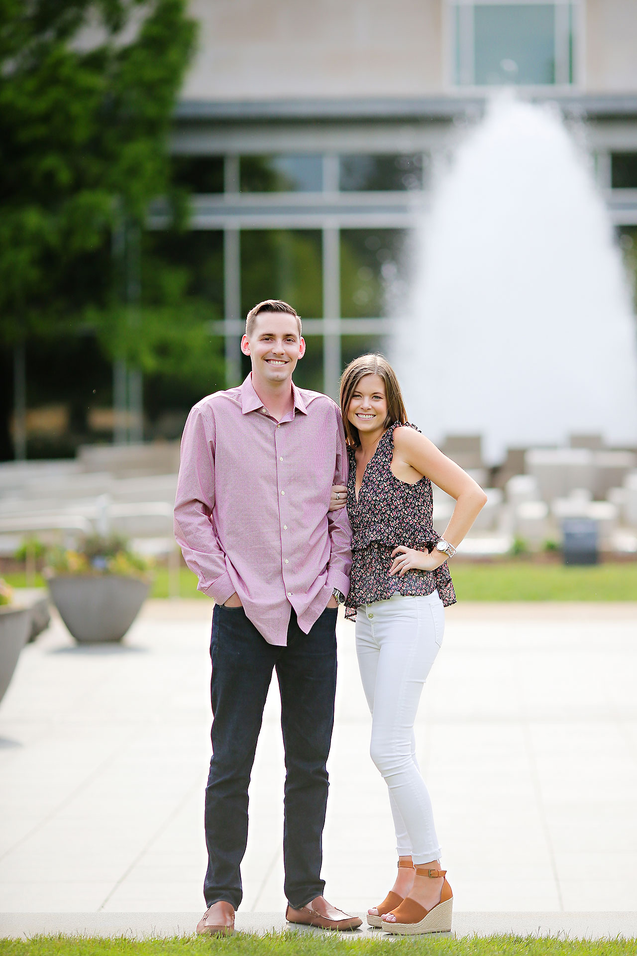 Erin Grant Indianpolis Museum of Art Newfields Engagement Session 035