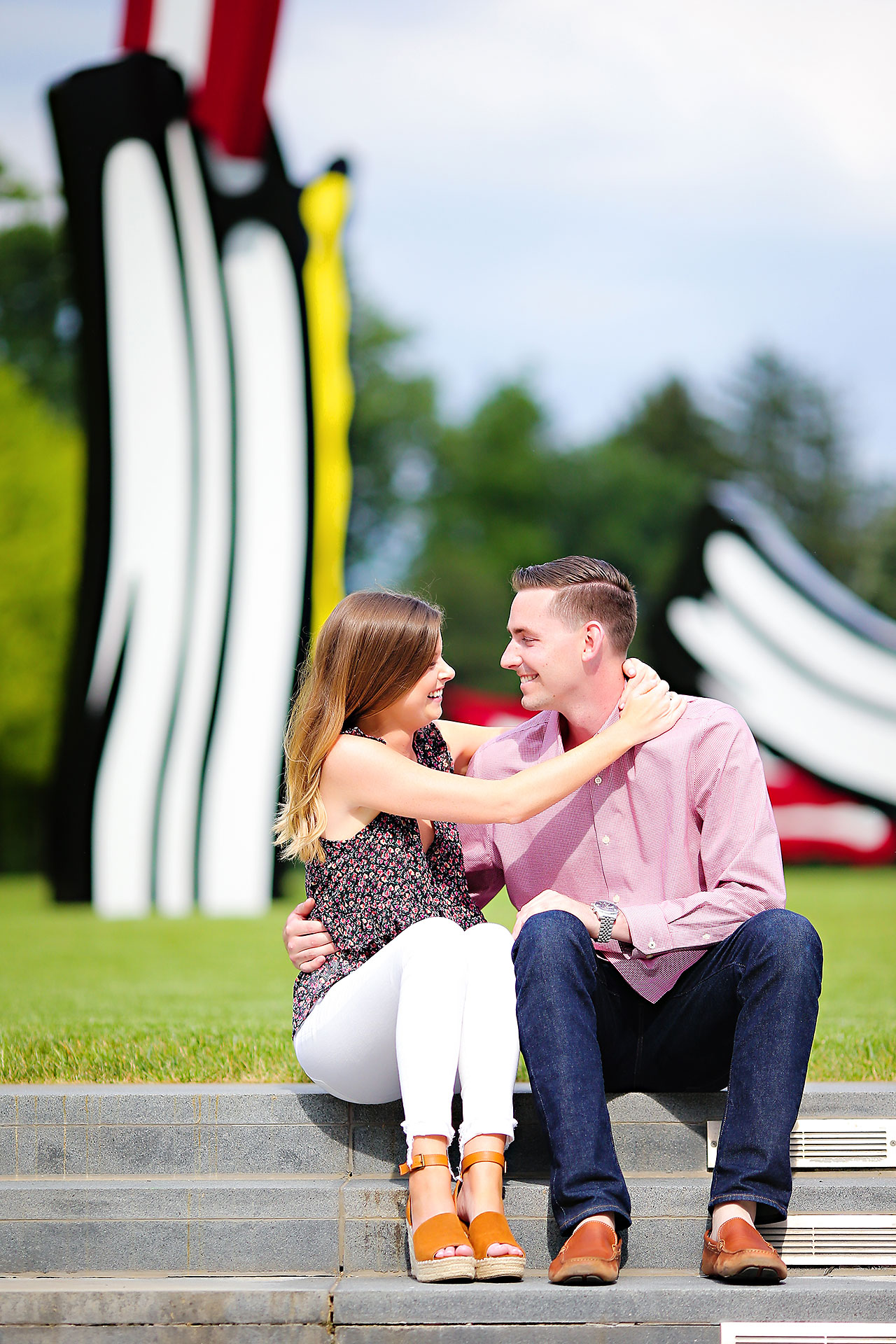 Erin Grant Indianpolis Museum of Art Newfields Engagement Session 023