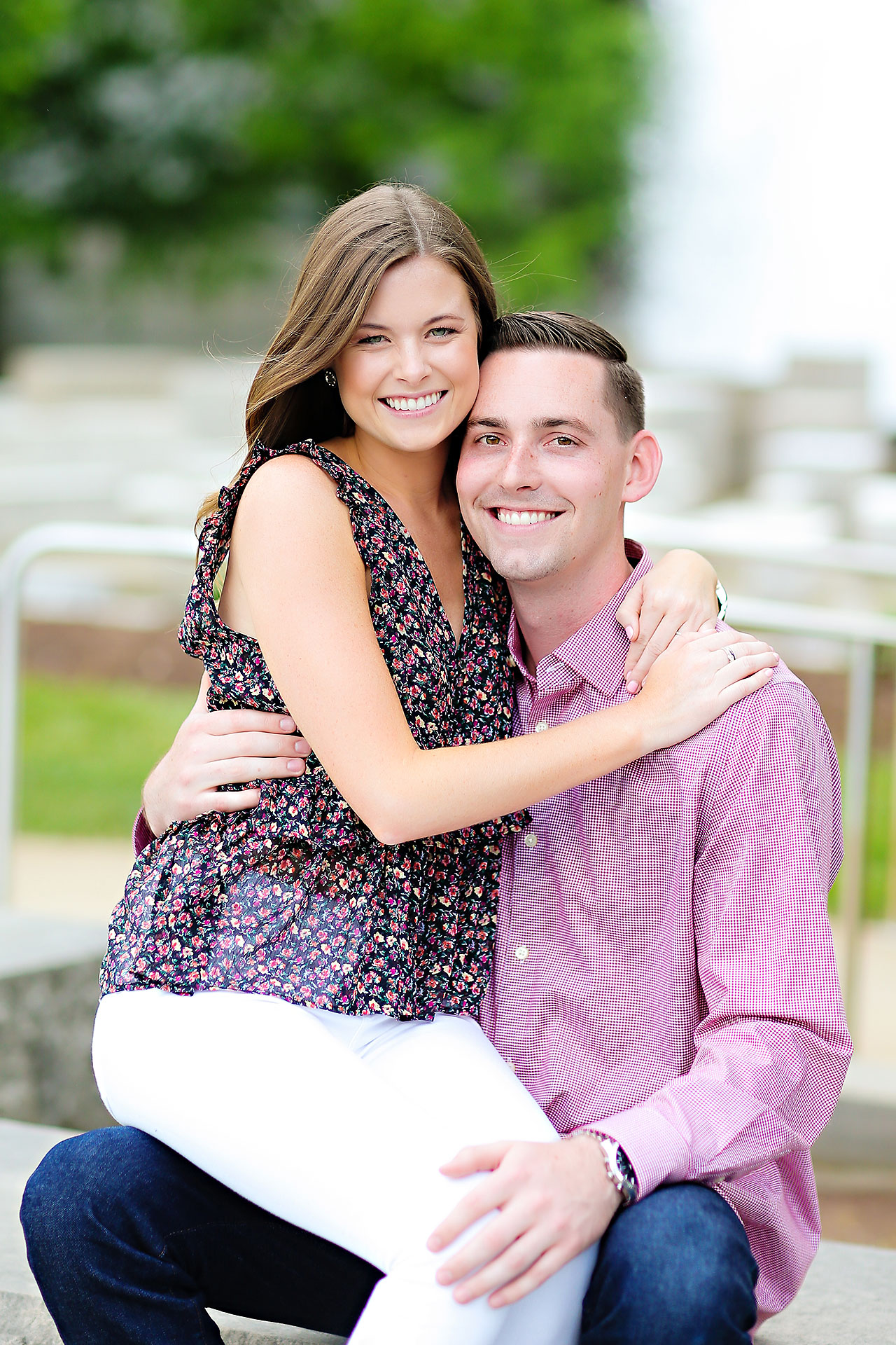 Erin Grant Indianpolis Museum of Art Newfields Engagement Session 007