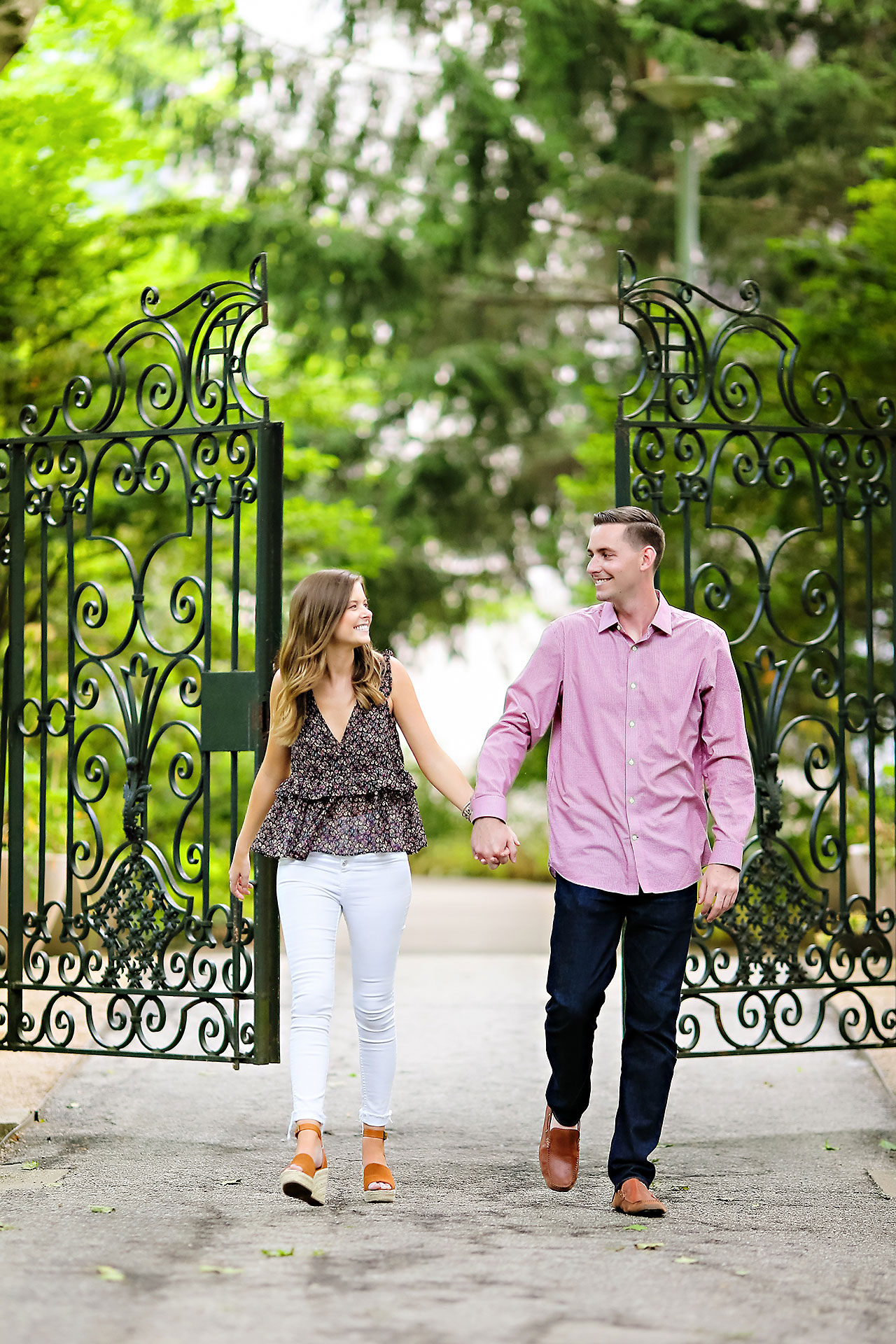 Erin Grant Indianpolis Museum of Art Newfields Engagement Session 006