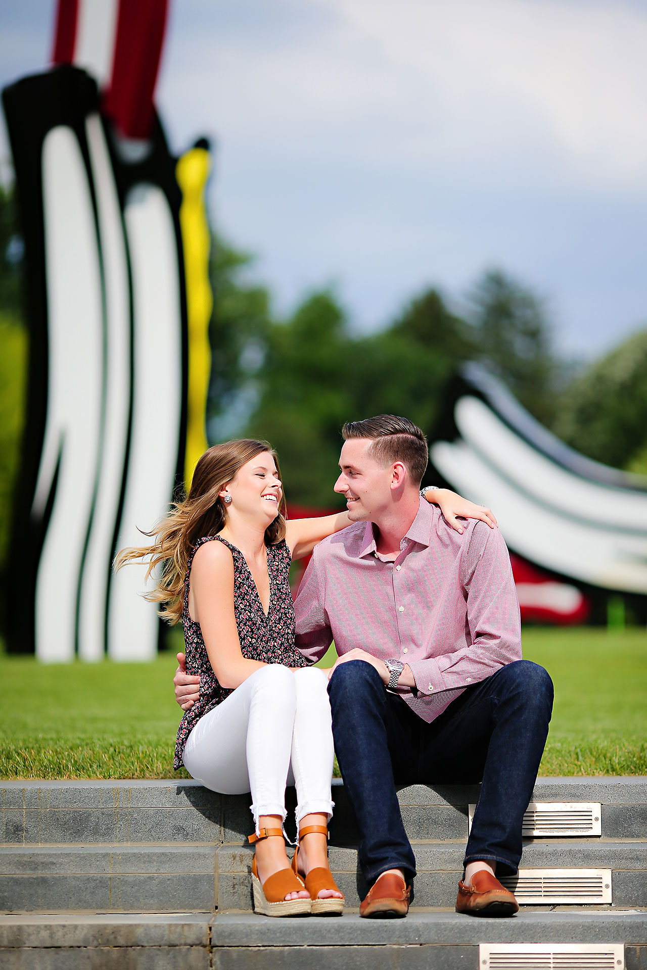 Erin Grant Indianpolis Museum of Art Newfields Engagement Session 002
