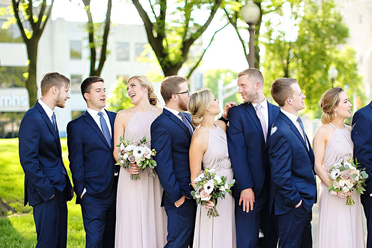 Molly Declan Scottish Rite Indianapolis Wedding 209
