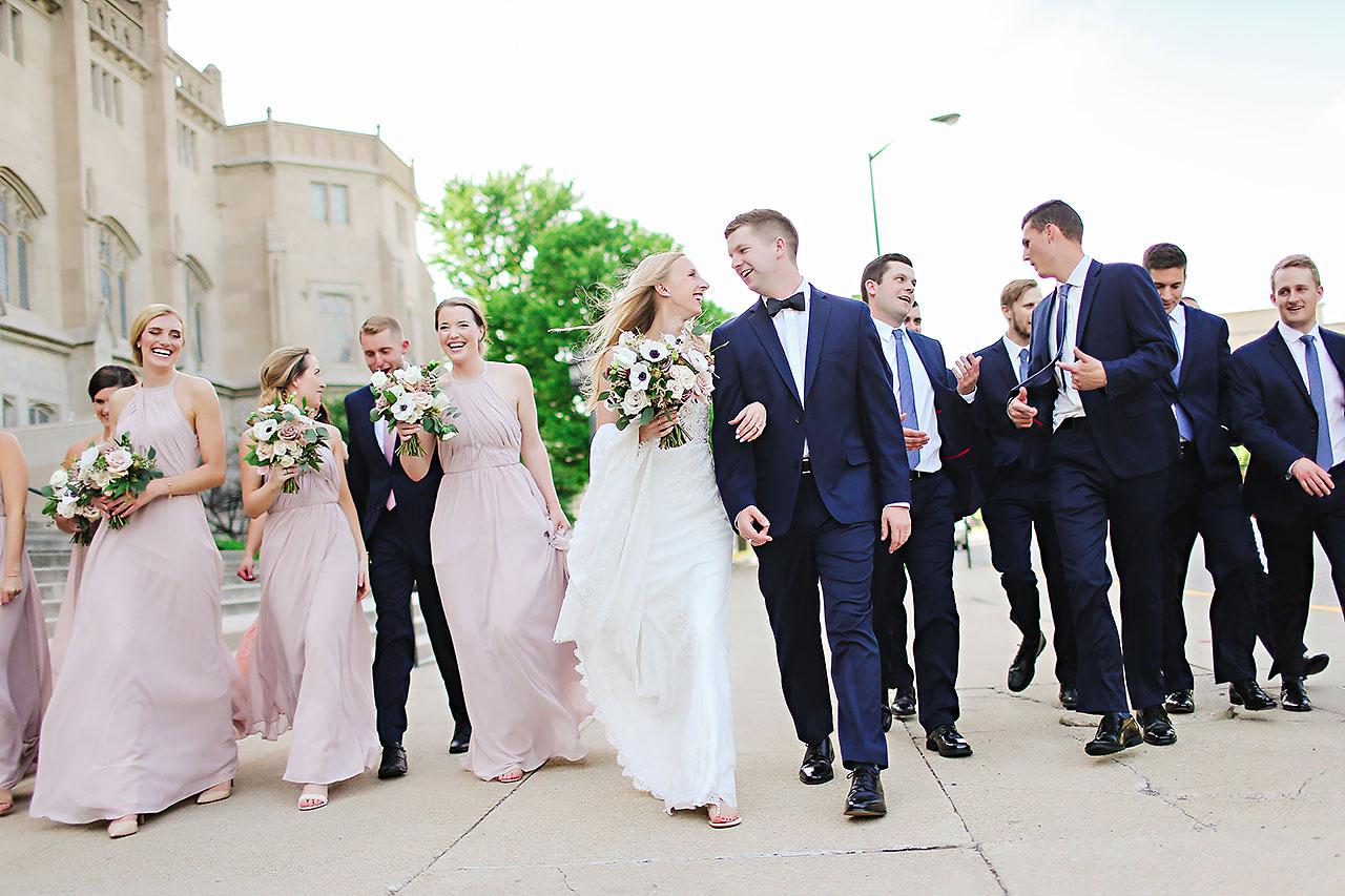 Molly Declan Scottish Rite Indianapolis Wedding 179