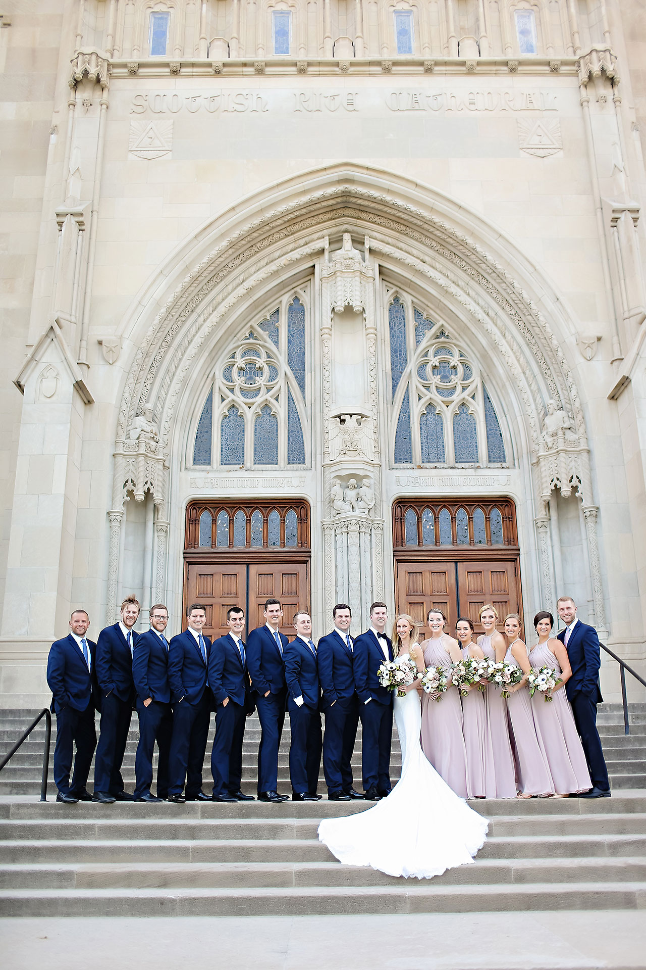Molly Declan Scottish Rite Indianapolis Wedding 166